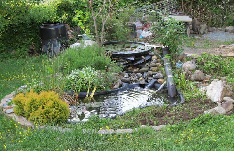 How to build a backyard pond for Making a backyard pond