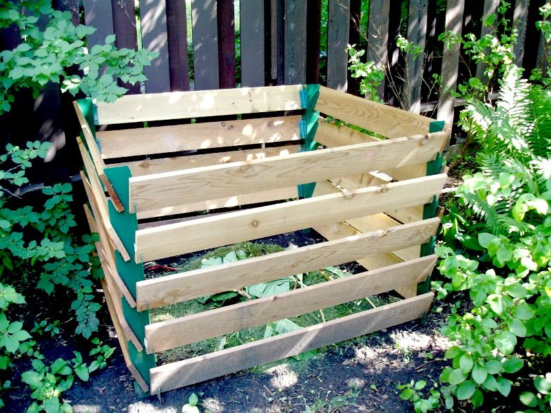 Home Made Composting Bin Home Composting Easy Simple