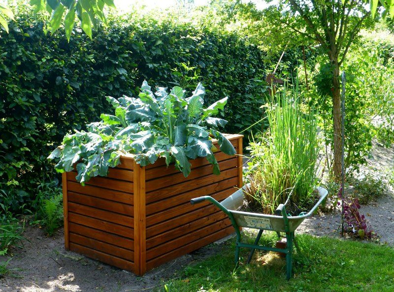 Raised Bed Container Garden Layouts