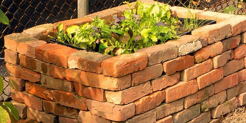 Use Bricks for Raised Bed Gardens
