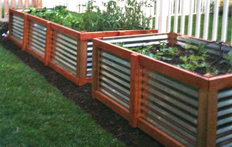 Use Steel for Raised Bed Gardens
