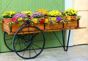 Container Vegetable Gardening Flower Cart Container Garden